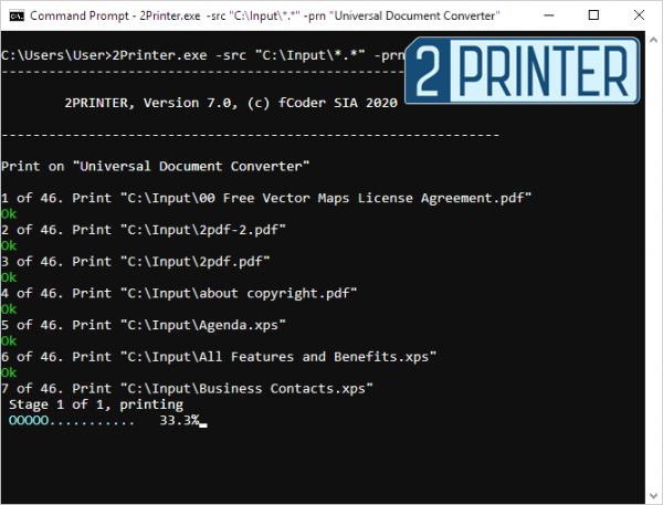 Виртуальный PDF принтер Универсальный Конвертер Документов и 2Printer